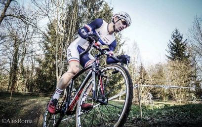 Maximilien Andréo, Champion de France de Cyclo-cross masters