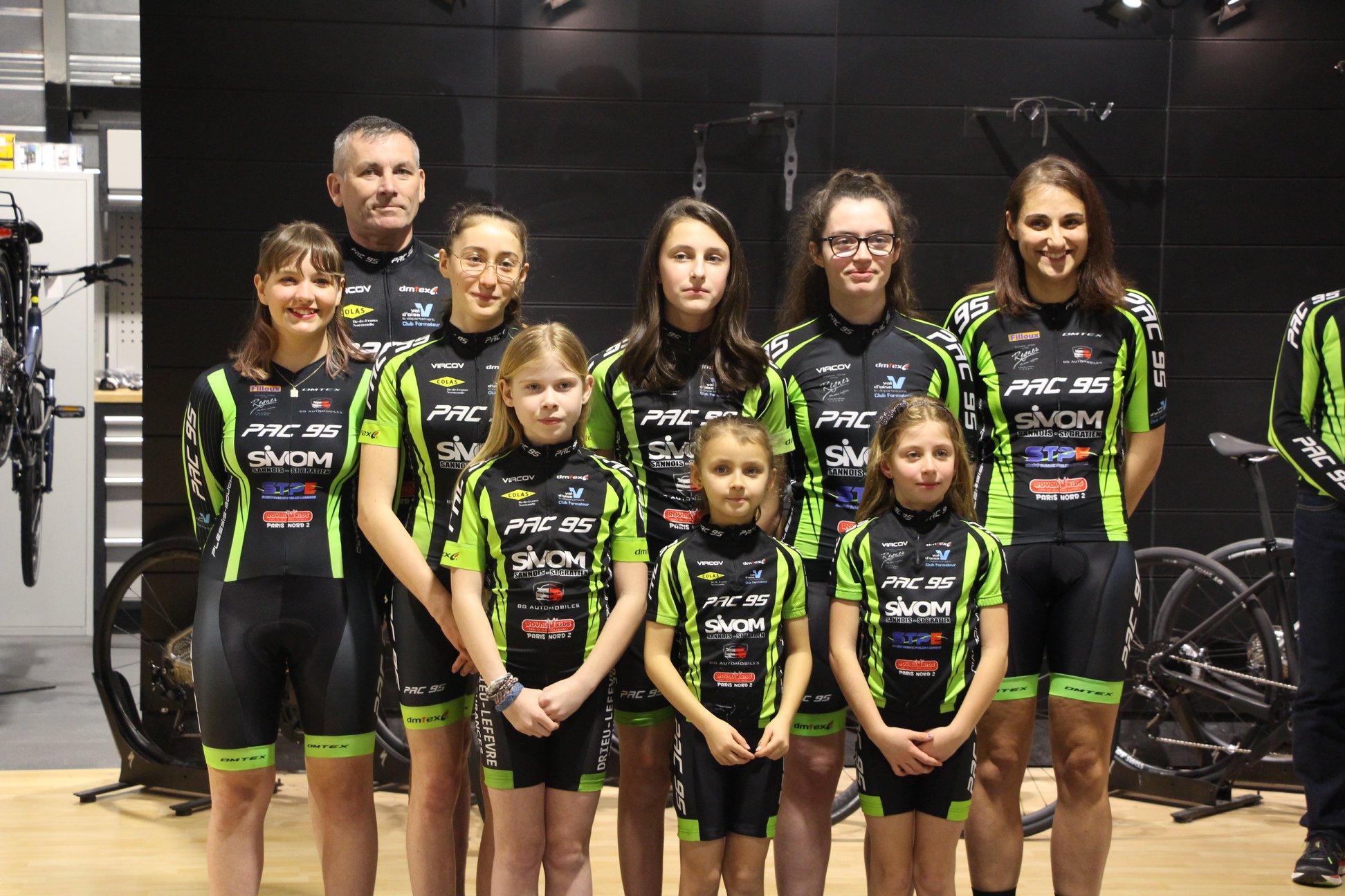 Les équipes féminines à l'honneur